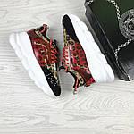 Женские кроссовки Versace (леопардовые), фото 5