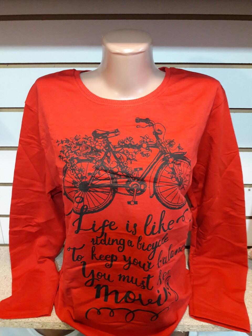 Cвитшот, батник двунить Турция Bicycle