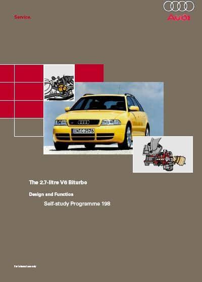 Audi. Программы самообучения 198-432