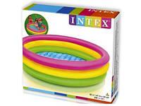 Бассейн Детский Надувной INTEX 57422 Радуга 147х33 см, фото 1