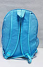 Рюкзак в голубом цвете, полиэстер, фото 3