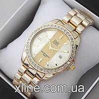 Женские наручные часы Q&Q B129 на металлическом браслете