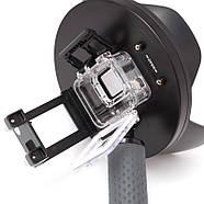 """Комплект SHOOT Dome Port 6"""" с блендой для GoPro Hero5/6/7 Black (подводный купол, аквабокс, ручка-поплавок), фото 4"""