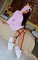 Халат Пижамы кигуруми розовая кошка kmy0120