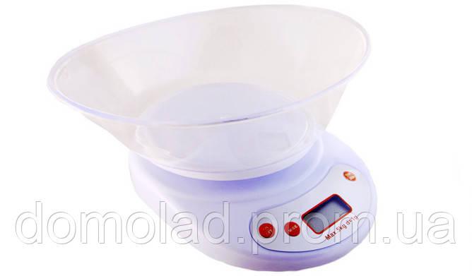 Ваги Кухонні з Чашею ACS KE 2 до 5 кг