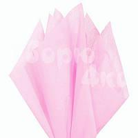 Тишью бумага упаковочная нежно розовая 50 х 70см (100 листов)