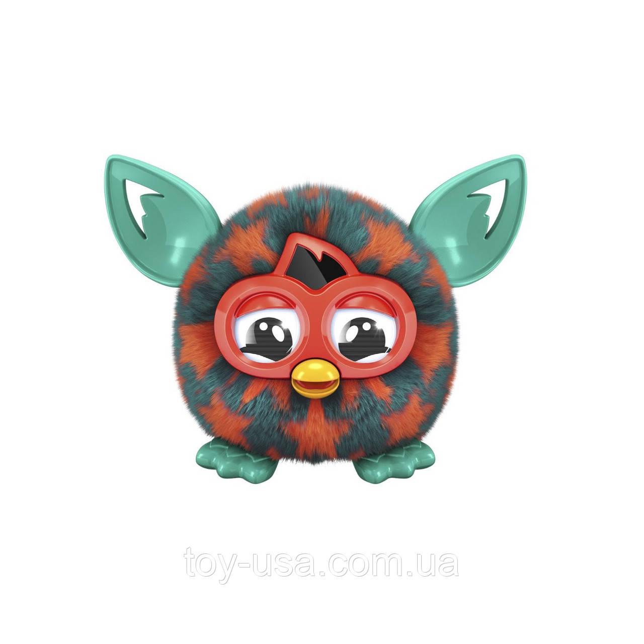 Furby Boom Orange Stars Plush Toy