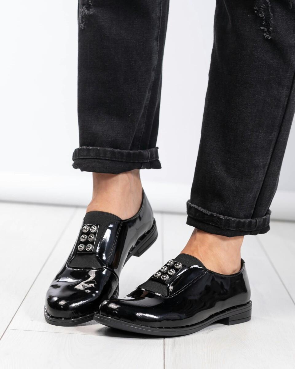 Черные туфли женские Натуральная лаковая кожа.Размер 38