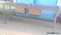 Стол с двумя мойкой (усиленный), фото 1