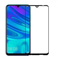 Защитное стекло для Huawei P Smart 2019 (POT-LX1) Honor 10 Lite HRY-LX1 клеится по всей поверхности черный 2.5