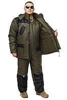 """Зимний костюм для рыбалки и охоты """"Tourist -30 haki"""" все размеры"""