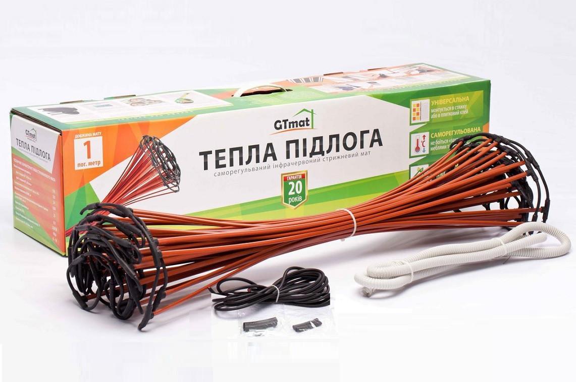 Теплый пол - стержневой инфракрасный мат GTmat  S – 109 (9 м2)