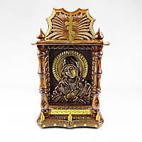Икона Богородицы, ручной работы