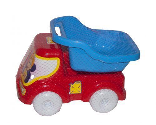 Машинка самосвал № 1 (синий)  sco