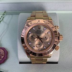 ✅ Rolex Cosmograph Daytona Oyster 40 Yellow Gold