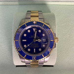 ✅ Rolex Submariner Date Oyster 40 Silver/Yellow Gold