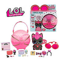 Новинка L.O.L. Surprise! Большой питомец ЛОЛ Котенок Китти Biggie Pet Spicy Kitty, оригинал MGA