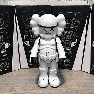 ✅ Kaws Star War Stormtrooper 400% Action Figure With Original Box White