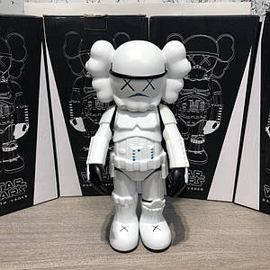 Kaws Star War Stormtrooper 400% Action Figure With Original Box White