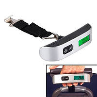 Весы багажные дорожные для багажа электронные до 50кг безмен кантер (z04866)