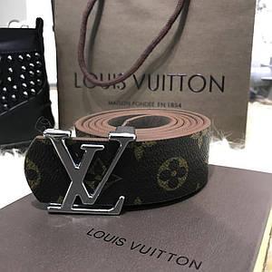 ✅ Belt Louis Vutton Initiales 40MM Silver Monogram