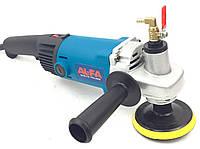 Полировально-шлифовальная машина с подачей воды AL-FA 1800W (ALWG24)