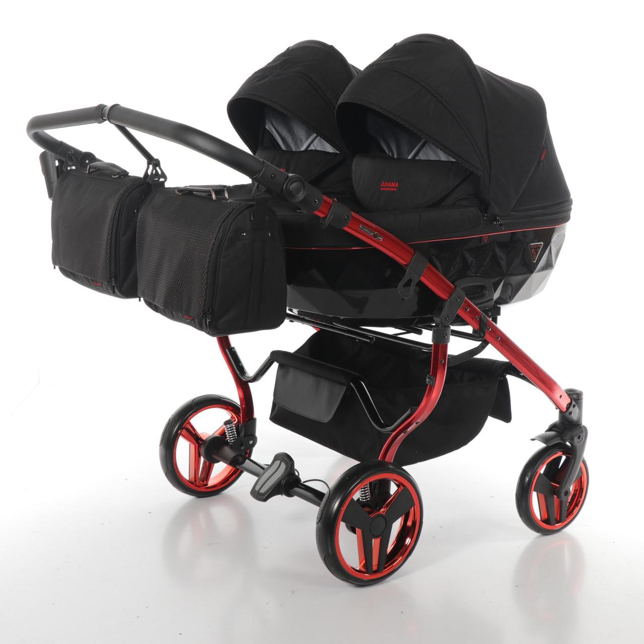 Дитяча коляска для двійнят Junama Diamond Individual Duo
