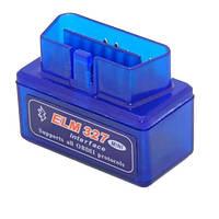 Мини Bluetooth ELM327 V15 OBD2 сканер диагностики авто (z03652)