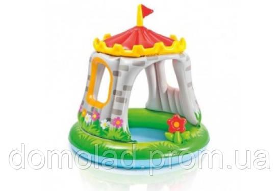Дитячий Надувний Басейн Замок Intex 57122 122х122 см