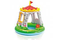 Дитячий Надувний Басейн Замок Intex 57122 122х122 см, фото 1