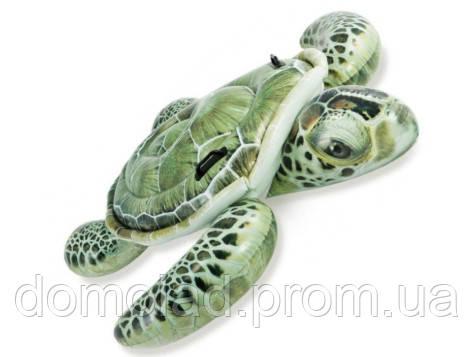 Детский Надувной Плотик Для Катания Intex 57555 Черепаха Размер 191 х 170 см