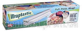 Диспенсер Wraptastic Для Хранения И Разрезания Пищевой Пленки Фольги Бумаги