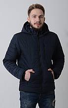 Куртка мужская весенняя Aziks м-071 темно-синий 56