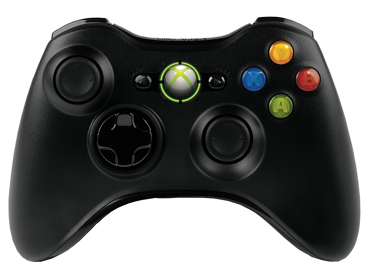 Microsoft Xbox 360 Wireless Controller Black OEM