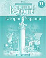 Контурна карта (Історія України) 11 клас