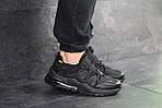 Чоловічі кросівки Nike (чорні), фото 3