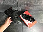 Чоловічі кросівки Nike (чорні), фото 5
