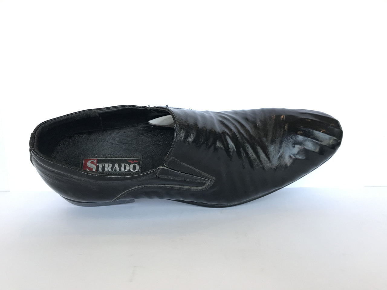 Чоловічі туфлі натуральна шкіра розміри STRADO