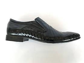 Чоловічі туфлі натуральна шкіра розміри STRADO, фото 3