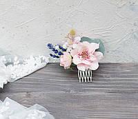 Міні-гребінь з лавандою, фото 1