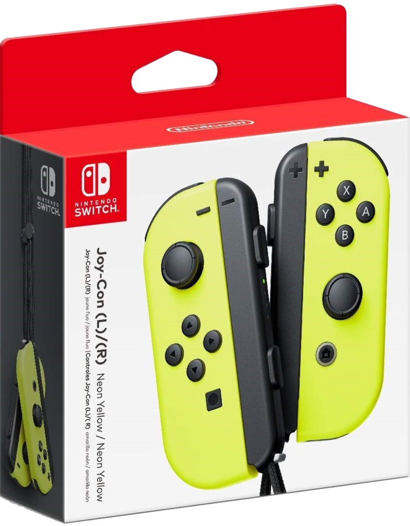 Геймпад (джойстик) Nintendo Switch Joy Con Yellow (пара)