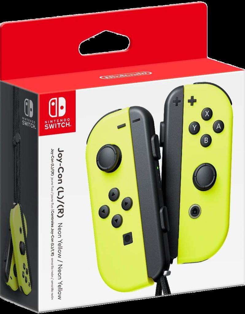 Nintendo Switch Joy Con Yellow (пара)