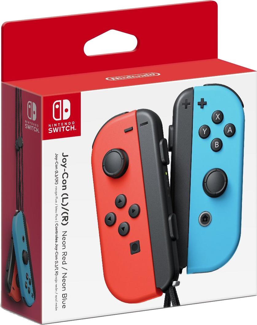 Nintendo Switch Joy Con Red-Blue (пара)