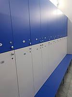 Шкафчик в раздевалку секционный