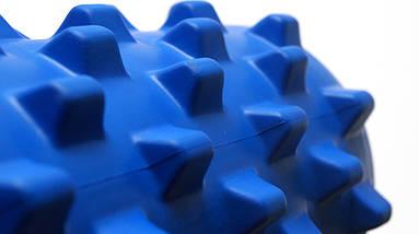 Массажный валик (MS 1843-1BL) / Синий / 45х14 см. (шипы)., фото 2