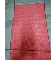 Передние майки на сидения черно-красные 1+1 закрытые MAX ромб