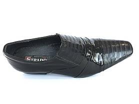 Мужские туфли натуральная кожа все размеры STRADO, фото 3