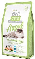 Корм Brit Care Cat Angel I am Delighted Senior (для пожилых кошек) 7 кг