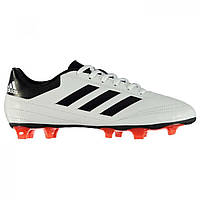 Бутсы Adidas Goletto Firm Ground Football White/Solar Red - Оригинал