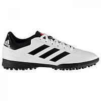 Бутсы Adidas Goletto Astro Turf White/Solar Red - Оригинал, фото 1